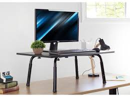 standing height adjustable desktop stand stand up work space