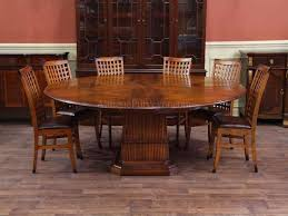 modern expandable round dining table