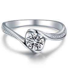 round shape diamond engagement ring 950 platinum setting art deco