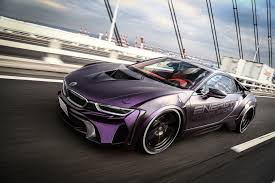 Bmw I8 Widebody - dub magazine bmw i8 dark knight edition