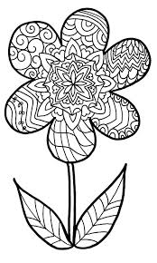 flower zentangle colouring page jpg 957 1600 coloring pages