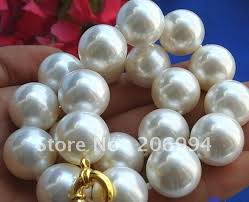 white shell pearl necklace images Buy lowest rare huge 20mm south sea white shell jpg
