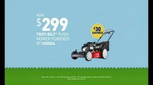 lowe u0027s summer savings tv commercial u0027push mower u0026 perennials