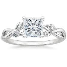 cut engagement ring princess cut engagement rings brilliant earth