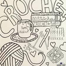 illuminate crochet crochet coloring page