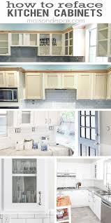 Refinish Kitchen Cabinet Doors Refacing Kitchen Cabinets Budgeting Reface Kitchen Cabinets And