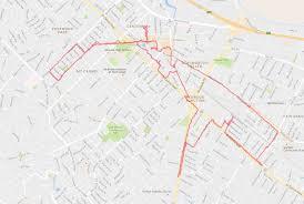 Map My Walk Route July 2016 Walking Redwood City