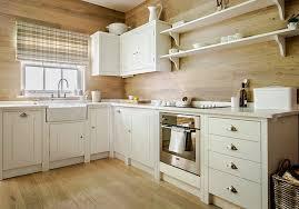 cuisine blanc cérusé meuble de cuisine bois massif en chene ceruse blanc