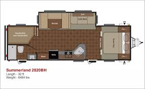 Sunset Trail Rv Floor Plans by Inventory