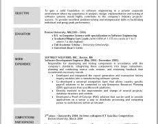 Resume Mission Statement Objective In Resume Sample 4 Template B W Formal Nardellidesign Com