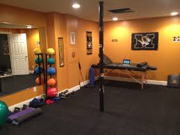 inspiring best flooring for workout room shining wood home gym