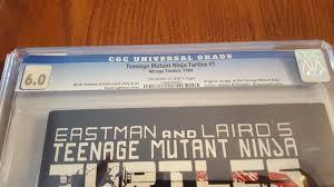 teenage mutant ninja turtles 1 1984 mirage ebay