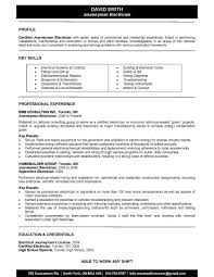electrician resume template airfield electrician cover letter sample resume format electrical
