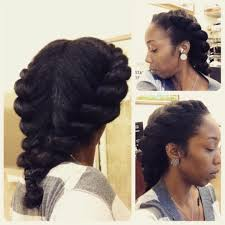 Chunky Flat Twist Hairstyles by Two Strand Flat Twists This Style Was Done On My Natural Blown