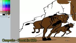 lion king online coloring pages gnu 115 youtube