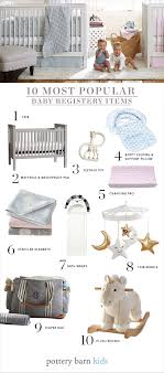 popular baby registry most popular baby registry items