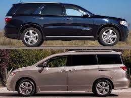 compare dodge durango comparing minivans with seven passenger crossovers suvs consumer