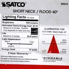 Par30 Led Light Bulb by Satco Par30 Led Floodlight Vs Halogen The Smell Of Molten