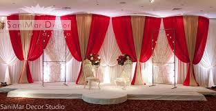 Curtains Wedding Decoration Wedding Stage Decor