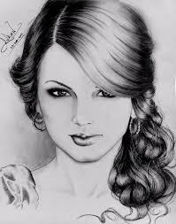 taylor swift drawing by ruben palacio rodriguez by vengador6969