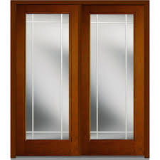 mmi door 72 in x 80 in gbg left hand full lite classic stained
