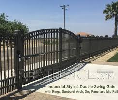Arch Trellis Fence Panels Aluminum Gate Arch Greatfence Com
