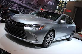 toyota new u0026 used car 2015 toyota camry video new york auto show