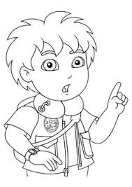 Go Diego Go Coloring Pages To Print Google Search Party Ideas Go Diego Go Coloring Pages