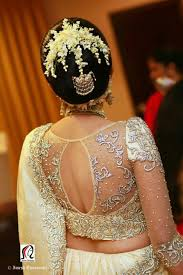 what a beautiful large low bun with real flower gajra u0026 juda pin
