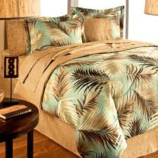 Palm Tree Bedroom Furniture by Pacific Sunset By Dolce Mela 6 Pcs King Size Duvet Cover Set In