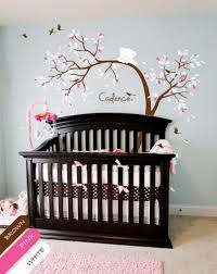 Wall Tree Decals For Nursery Custom Tree Wall Decal Teddy Sticker Mural Nursery Decor Kr064