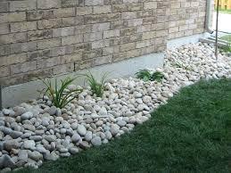 Cheap Rocks For Landscape Innovative Rock Backyard Landscaping
