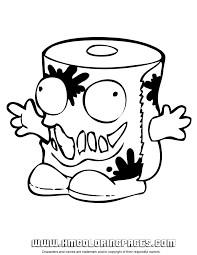 trash pack coloring 1 u0026 coloring pages