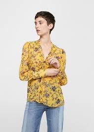 print blouse floral print blouse mango united kingdom