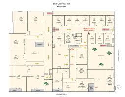 Cypress Floor Plan Carmel Hotel Rooms U0026 Rates Cypress Inn Carmel By The Sea Bed