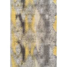 Modern Yellow Rug 10 X 13 X Large Yellow Gray Area Rug Modern Grays Rc Willey
