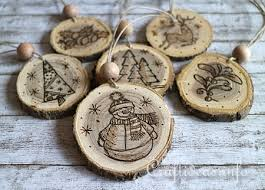 Easy Wood Burning Patterns Free by Wood Crafts For Christmas Wood Burned Christmas Ornaments From