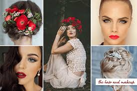 Flower Decorations For Hair Passion And Love 20 Fabulous Red And White Wedding Ideas