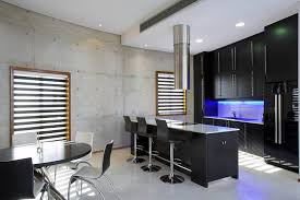 black modern kitchens black kitchen island with seating outofhome