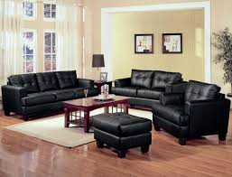 sofa black leather sets set corner sale with headrest ciov