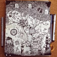 the best moleskine sketches by bestieawards