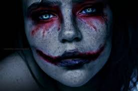 joker clown scary wallpaper hdwallpaperfx pinterest