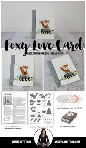 stampin up halloween stamps 255 best su foxy friends images on pinterest friends baby cards