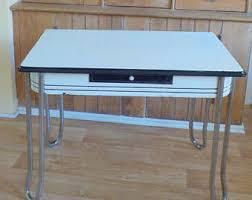Vintage Kitchen Table Etsy - Chrome kitchen table