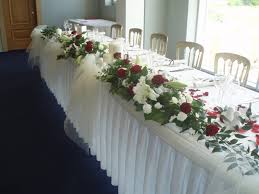 Table Wedding Decorations Ivory And Champagne Wedding Decor 1457