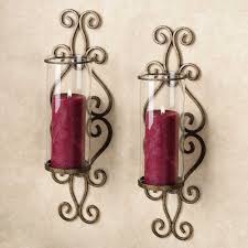 Glass Wall Sconces For Candles Wall Candle Sconces Ashley Home Decor