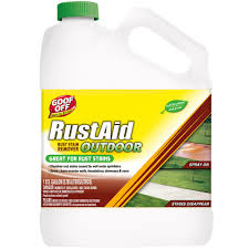 what is the best way to clean stained wood cabinets goof 1 gal rust and stain remover gsx00101 the home depot