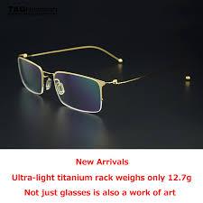 Optical Frame Tagged Glasses Fonex 2018 Summer Tag Brand Fashion Optics Frame Glasses Computer