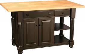 Kitchen Island With Legs Amish Turned Leg Island With Two Doors And Two Drawers