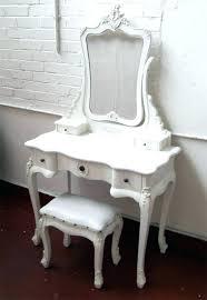 Vintage Vanity Chair White Vanity Table With Mirror U2013 Thelt Co
